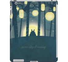 Totoro ' s Dream iPad Case/Skin