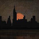NEW YORK CITY SKYLINE by TOM YORK