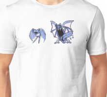 Zubat evolution  Unisex T-Shirt