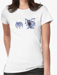 Zubat evolution  Womens Fitted T-Shirt