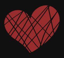 Valentine day doodle hearts  Kids Tee