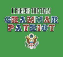 Grammar Patriot One Piece - Short Sleeve