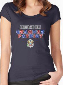 Grammar Patriot Women's Fitted Scoop T-Shirt