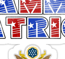 Grammar Patriot Sticker