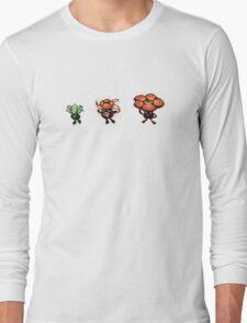Oddish evolution  Long Sleeve T-Shirt