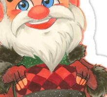 Sugar Rush Santa Claus Sticker