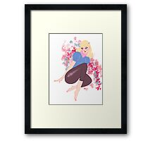 Your The One That I Want. Framed Print