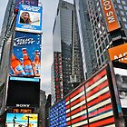 Times Square - New York City by Andrew Connor Smith