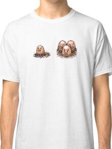 Diglett  evolution  Classic T-Shirt