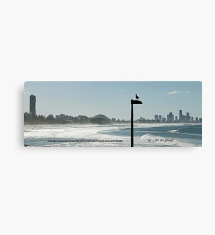 View of Surfers Paradise Canvas Print