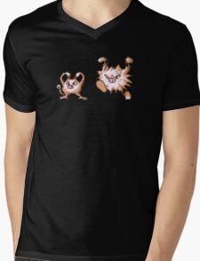 Mankey evolution  Mens V-Neck T-Shirt