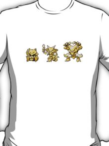 Abra evolutions T-Shirt