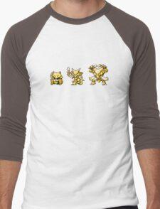 Abra evolutions Men's Baseball ¾ T-Shirt