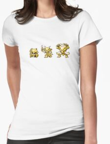 Abra evolutions Womens Fitted T-Shirt