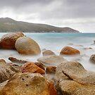 Waterloo Bay Rocks, Wilsons Promontory, Victoria, Australia by Michael Boniwell