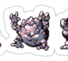 Geodude evolution  Sticker