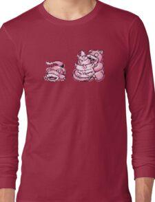 Slowpoke evolution  Long Sleeve T-Shirt