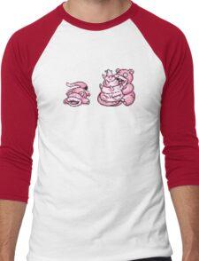 Slowpoke evolution  Men's Baseball ¾ T-Shirt