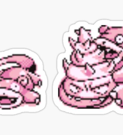 Slowpoke evolution  Sticker