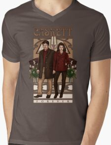 Caskett Mens V-Neck T-Shirt