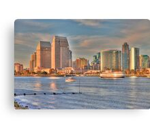Sunset in San Diego Canvas Print
