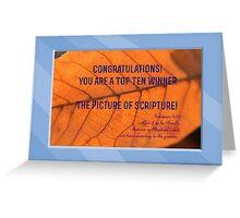 Banner - TPOS - Top Ten Greeting Card