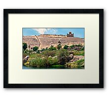 Aga Khan Mausoleum Framed Print