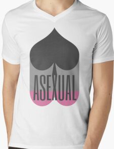 Ace of Spades Asexual Pride Shirt: Pink T-Shirt