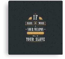 Trendy quotes Canvas Print