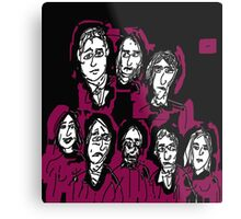 Party Of Monsters Metal Print