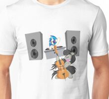 Vinyl and Octavia - Rock Out Unisex T-Shirt