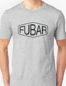 FUBAR logo - black contrast version T-Shirt