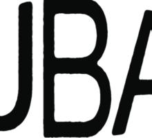 FUBAR logo - black contrast version Sticker