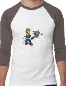 Hunting Haunters Men's Baseball ¾ T-Shirt
