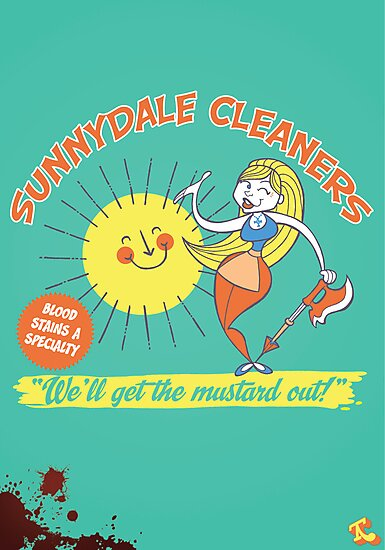 Sunnydale Cleaners by Tom Kurzanski