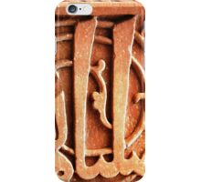 Carved in Stone  iPhone Case/Skin