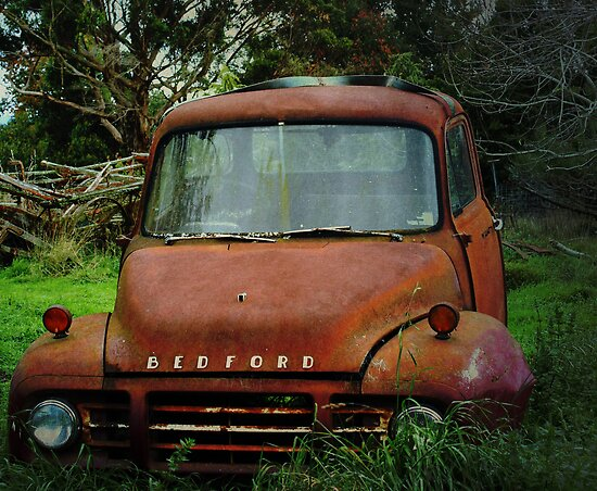 Old Bedford Truck by Susan Moss