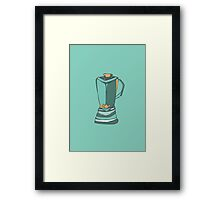 Retro Abstract Blender Framed Print