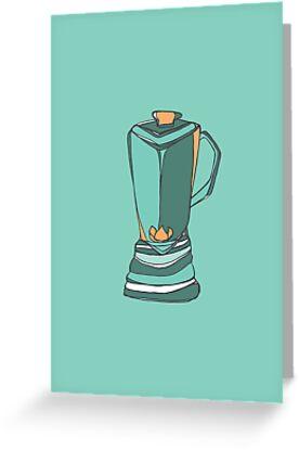 Retro Abstract Blender by Todd Fischer