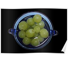 A Bowl Full of Grapes Poster