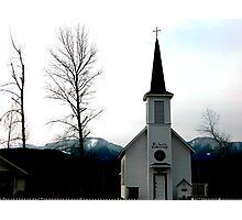 Elbe Church Photographic Print