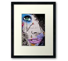 the strength of psyche Framed Print