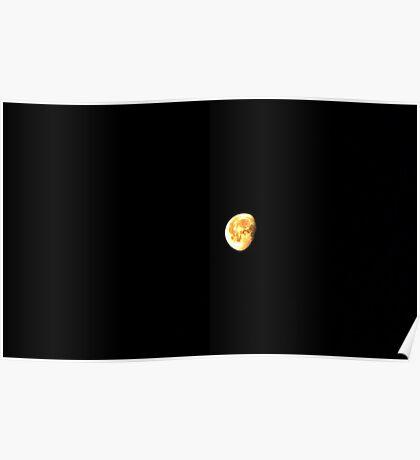 A Big Sherman, Texas Moon Poster