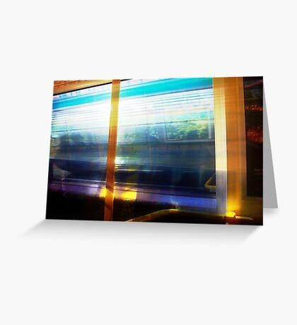 Train 04 03 13 One Greeting Card