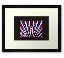 Stars & Stripes VRS2 Framed Print