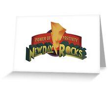 New Day Rocks Greeting Card