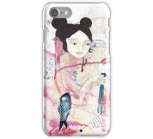 Playing with my voodoo doll iPhone Case/Skin