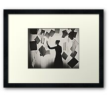 the last song (1) Framed Print
