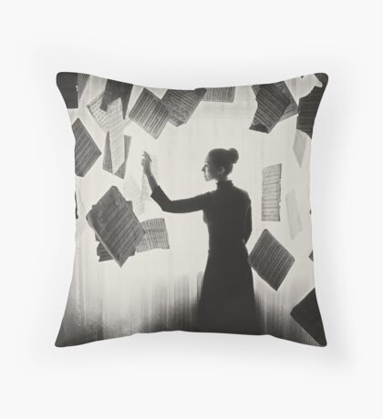 the last song (1) Throw Pillow