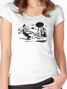 pulp fiction: jules Women's Fitted Scoop T-Shirt